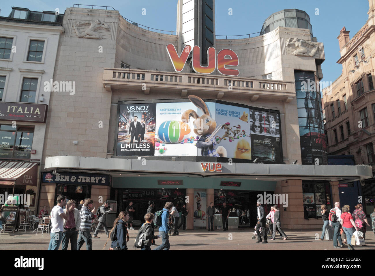 Vue cinema in west end rate my ass for Cafe le jardin bell lane london