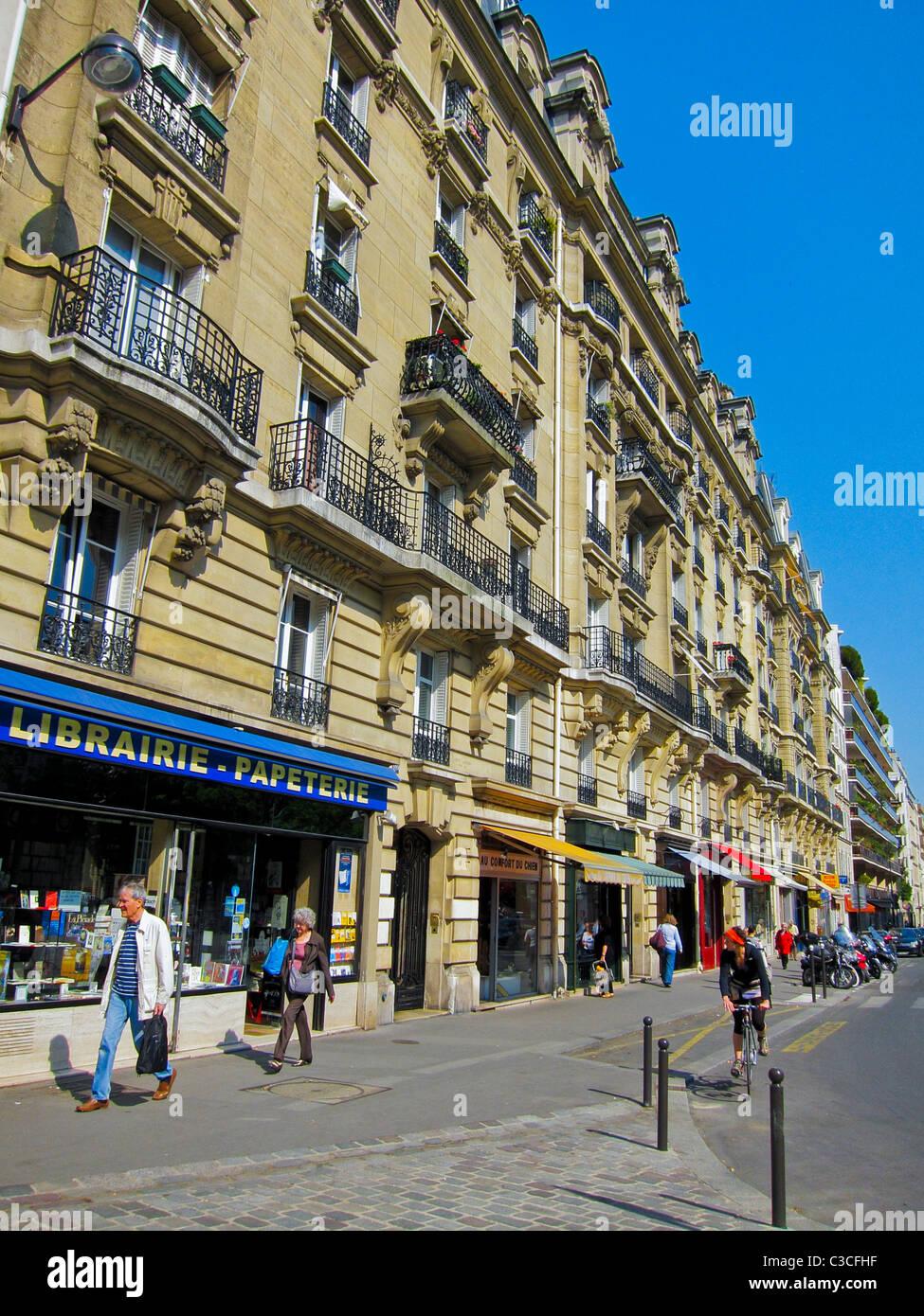 Paris France Parisian Apartment Buildings Street Scenes Small - Small apartment buildings