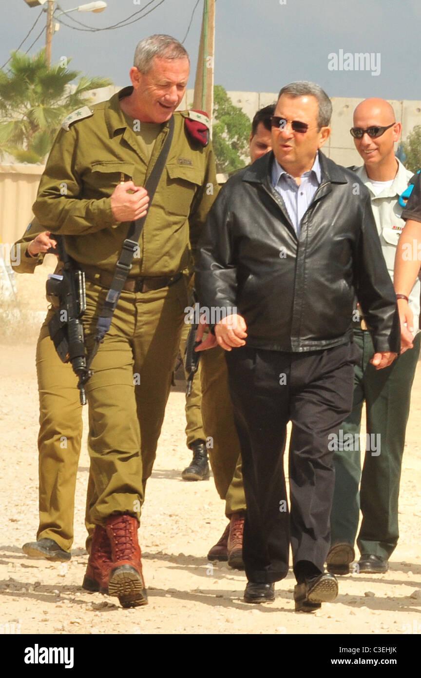 binyamin quotbennyquot gantz chief of general staff and ehud