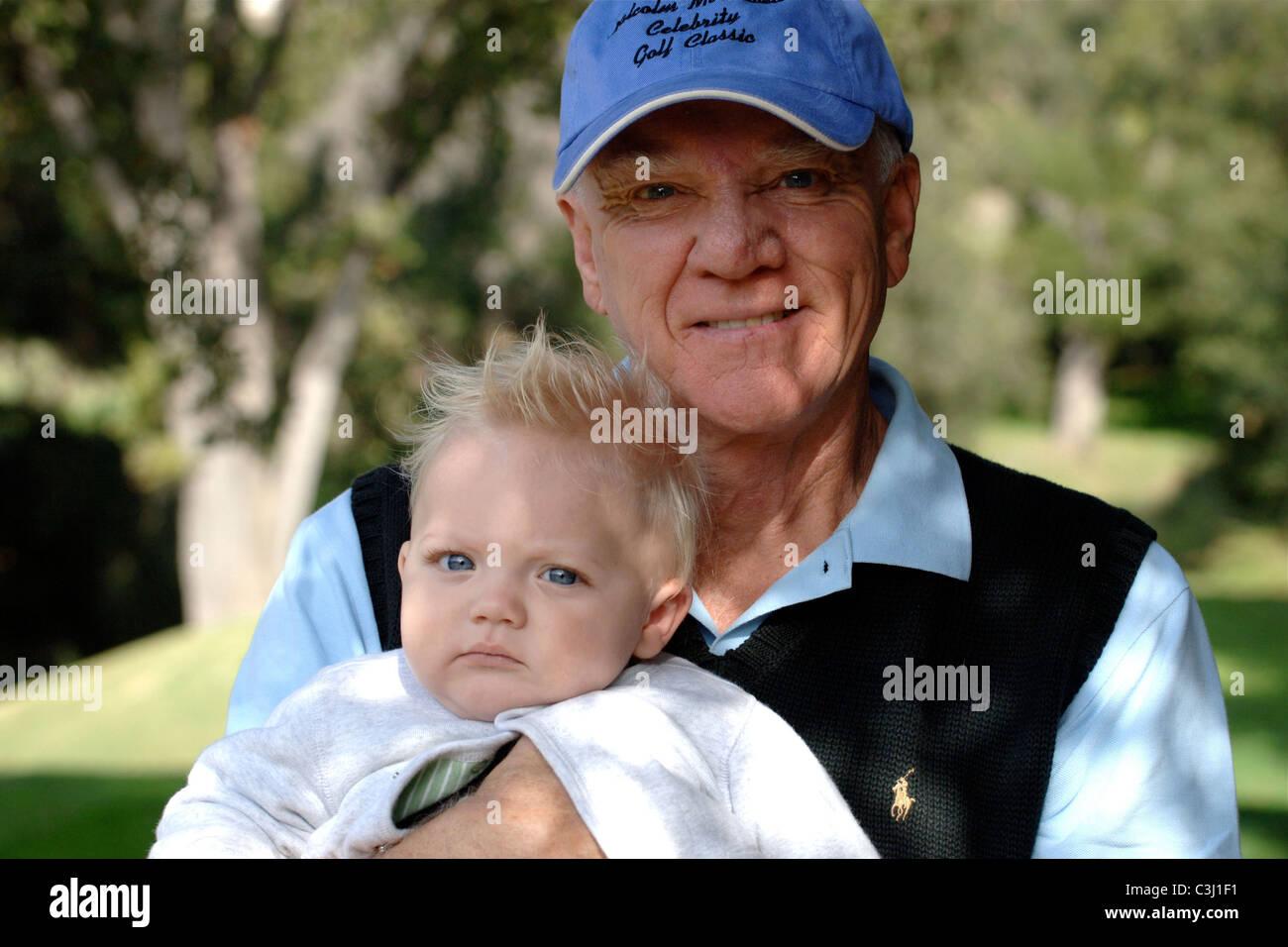 Malcolm mcdowell and seamus hudson mcdowell ojai film festival celebrity golf classic ventura california