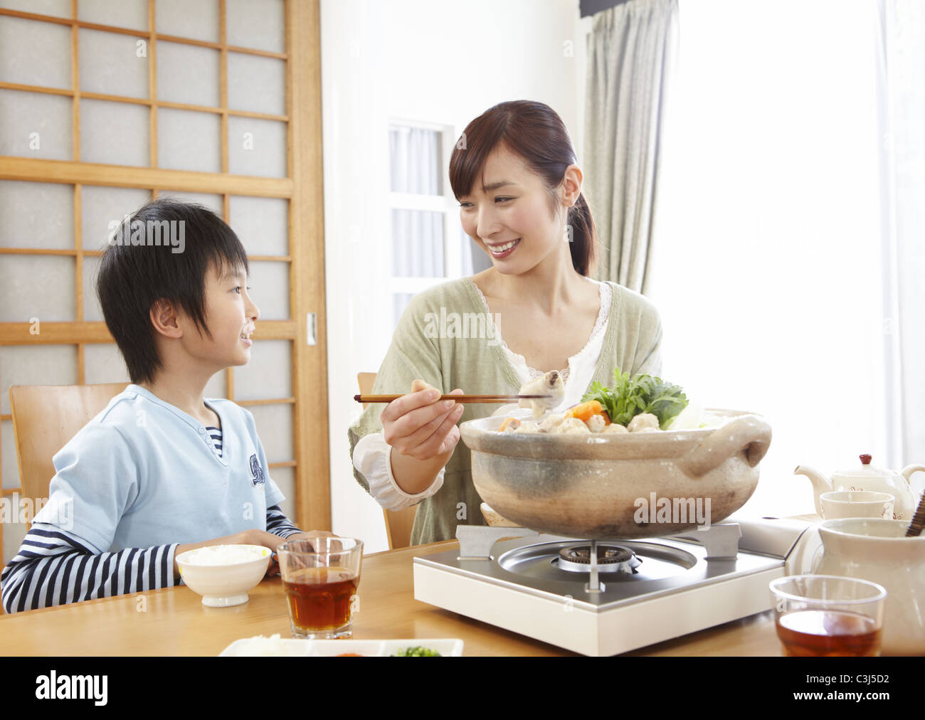 japanese mother son