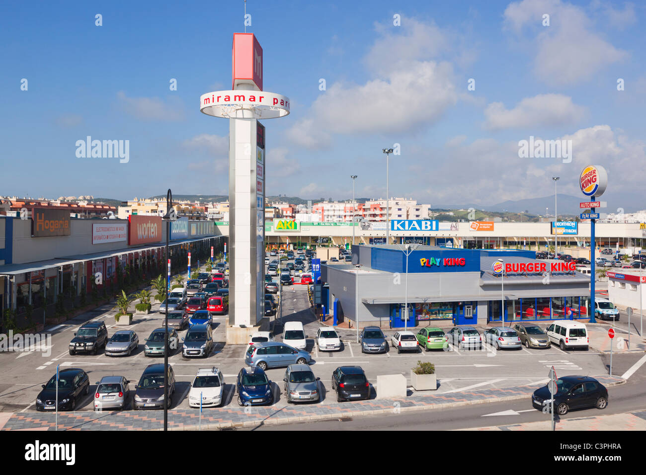 Fuengirola Spain  city photo : ... shopping centre, Fuengirola, Malaga Province, Costa del Sol, Spain