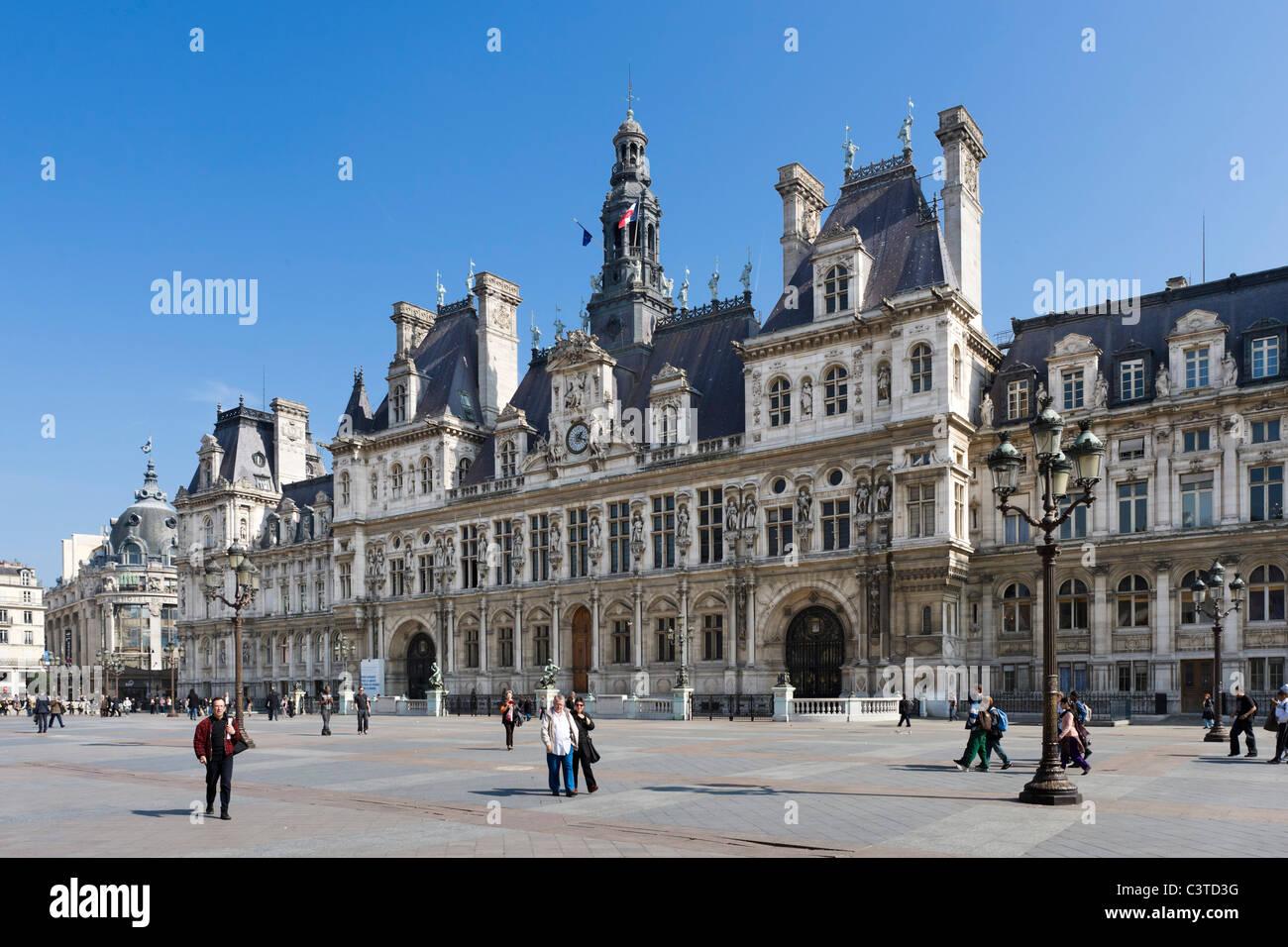The hotel de ville town hall 4th arrondissement paris for Hotel deville paris