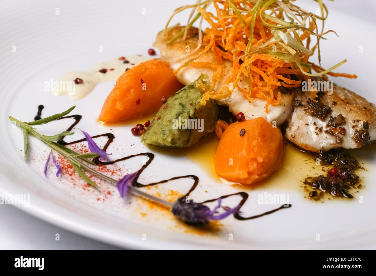 Gourmet fish dishes images galleries for Nouvelle cuisine