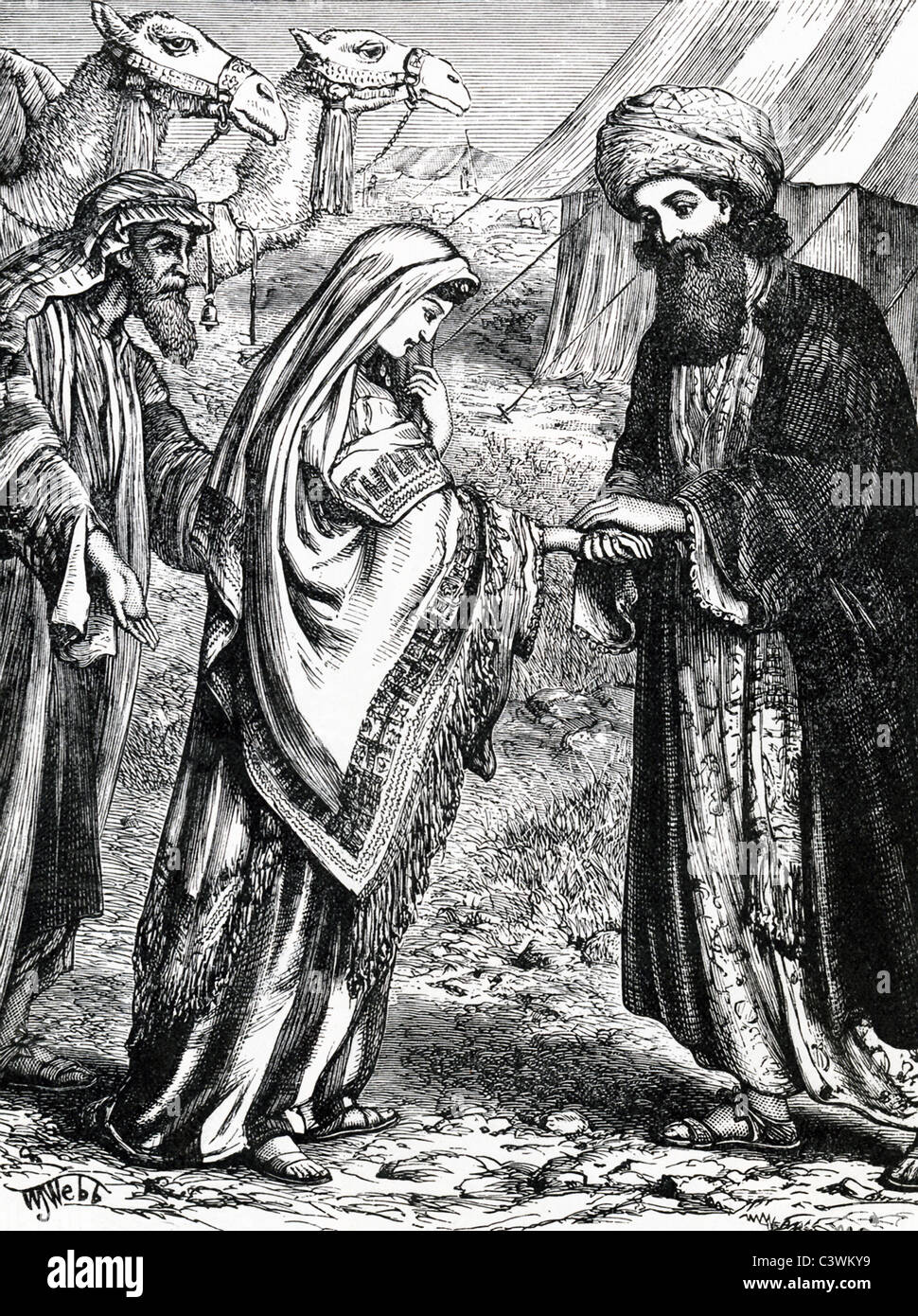 according to the bible rebecca middle was the wife of isaac