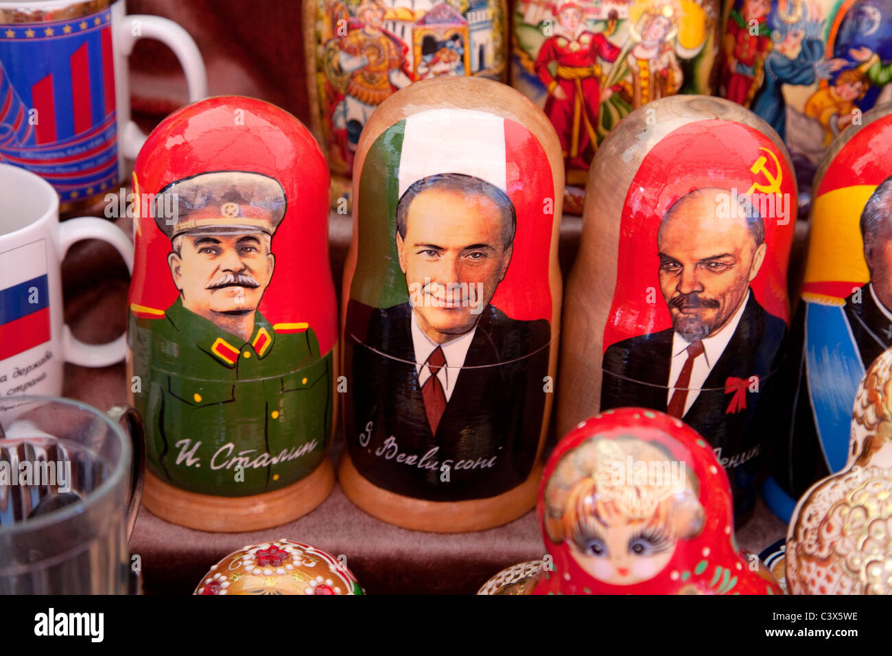 Souvenirs At The Russian Store