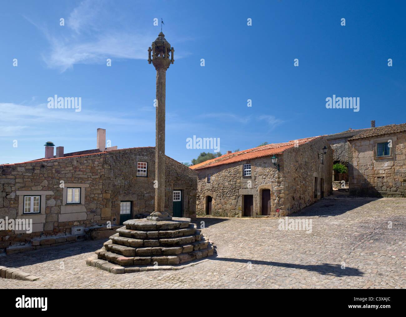 Portugal, Beira Alta, historic village of Castelo Mendo Stock Photo, Royalty Free Image