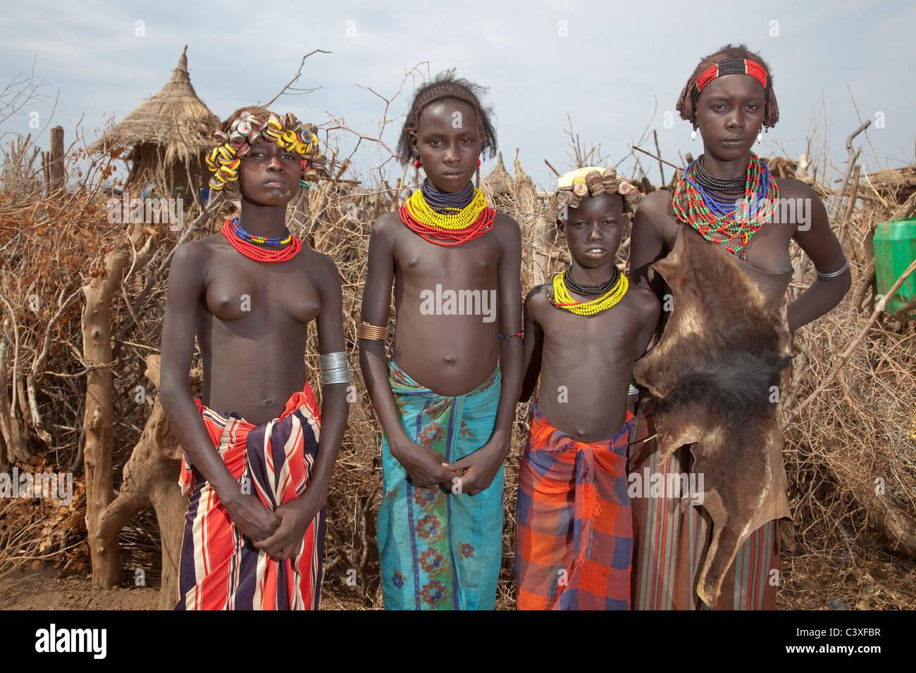 ghana nude tribes girls