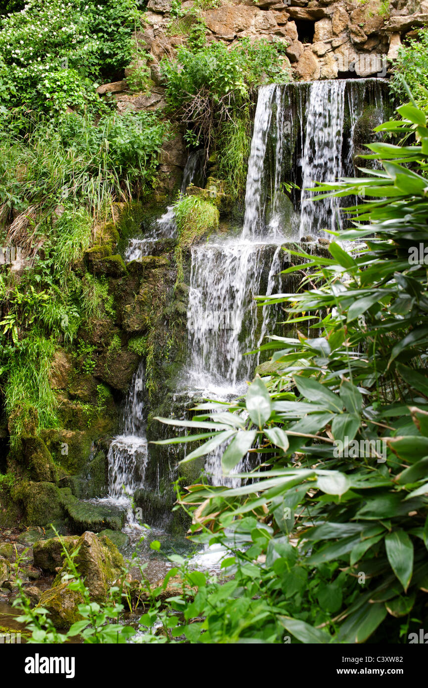 The Artificial Cascade Waterfall And Grotto At Bowood