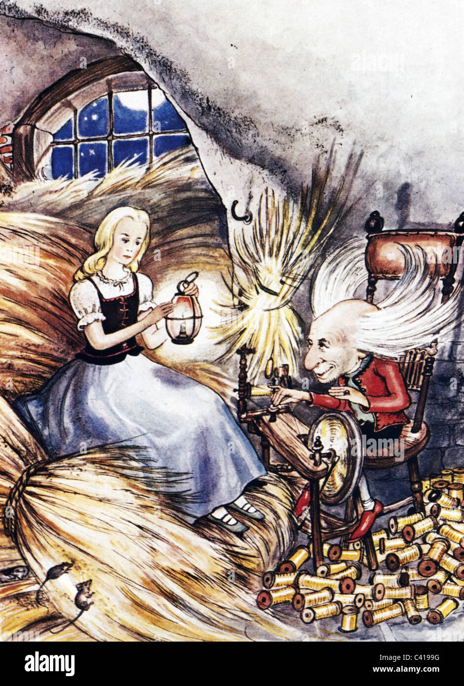 fairy tale and rumpelstiltskin A fairy tale, wonder tale,  both beauty and the beast and rumpelstiltskin appear to have been created some 4000 years ago the story of the smith and the devil.