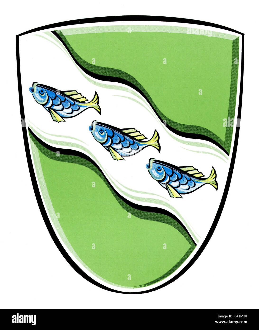 coat of arms emblems ansbach city arms bavaria germany