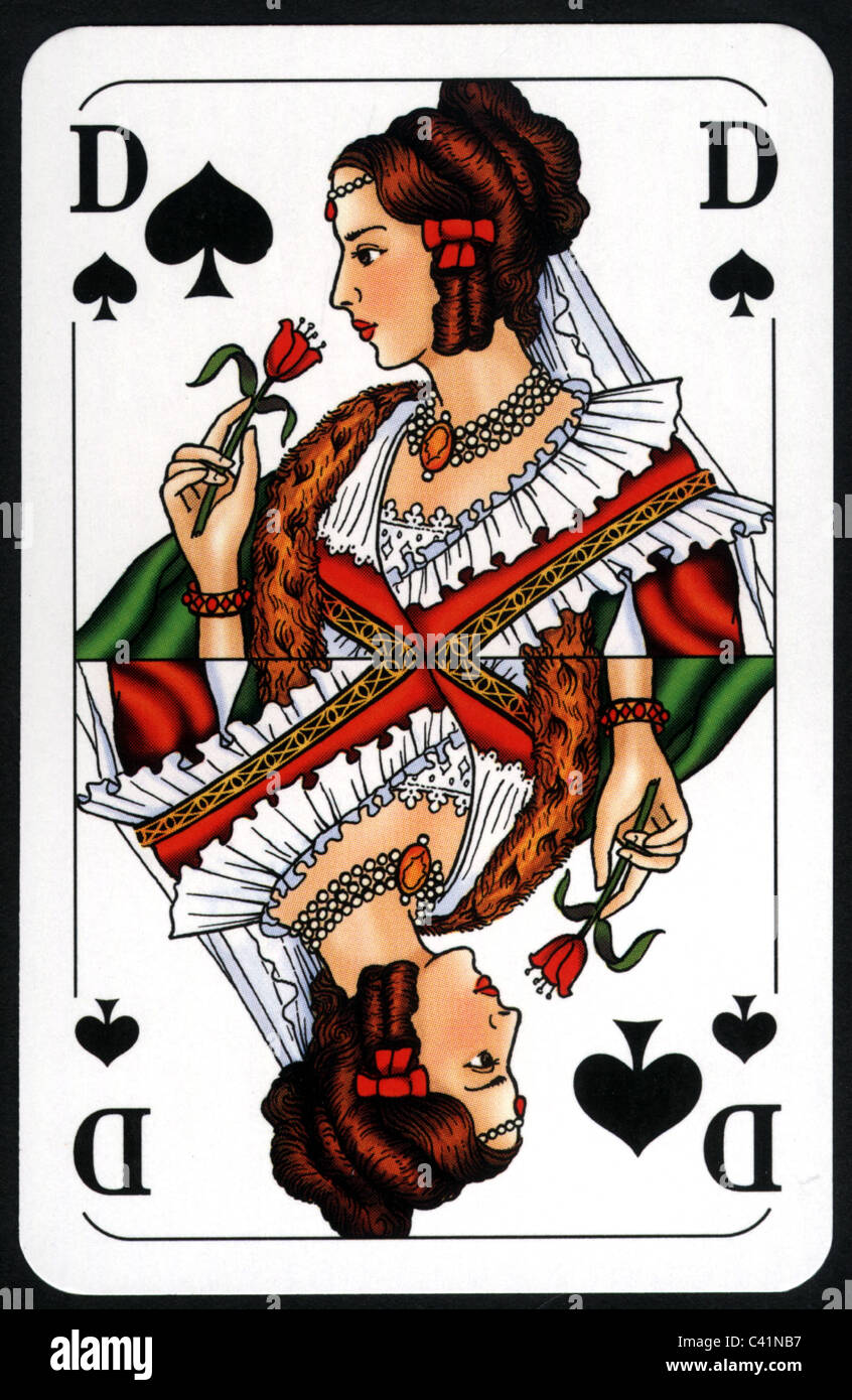 Queen Of Spades Deutsch