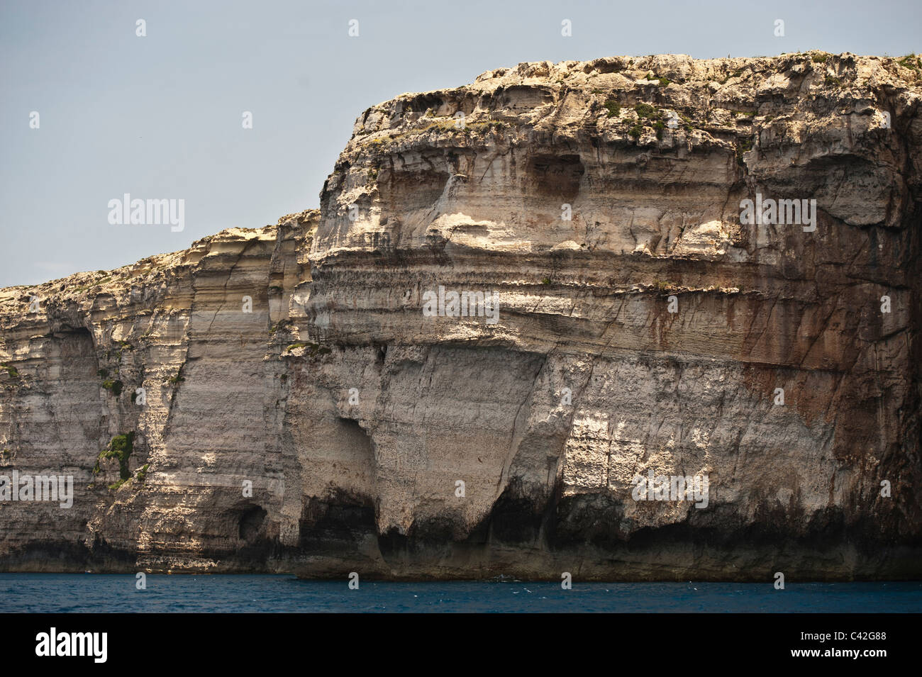 Natural Rock Faces : Natural rock formation looking like a face as seen