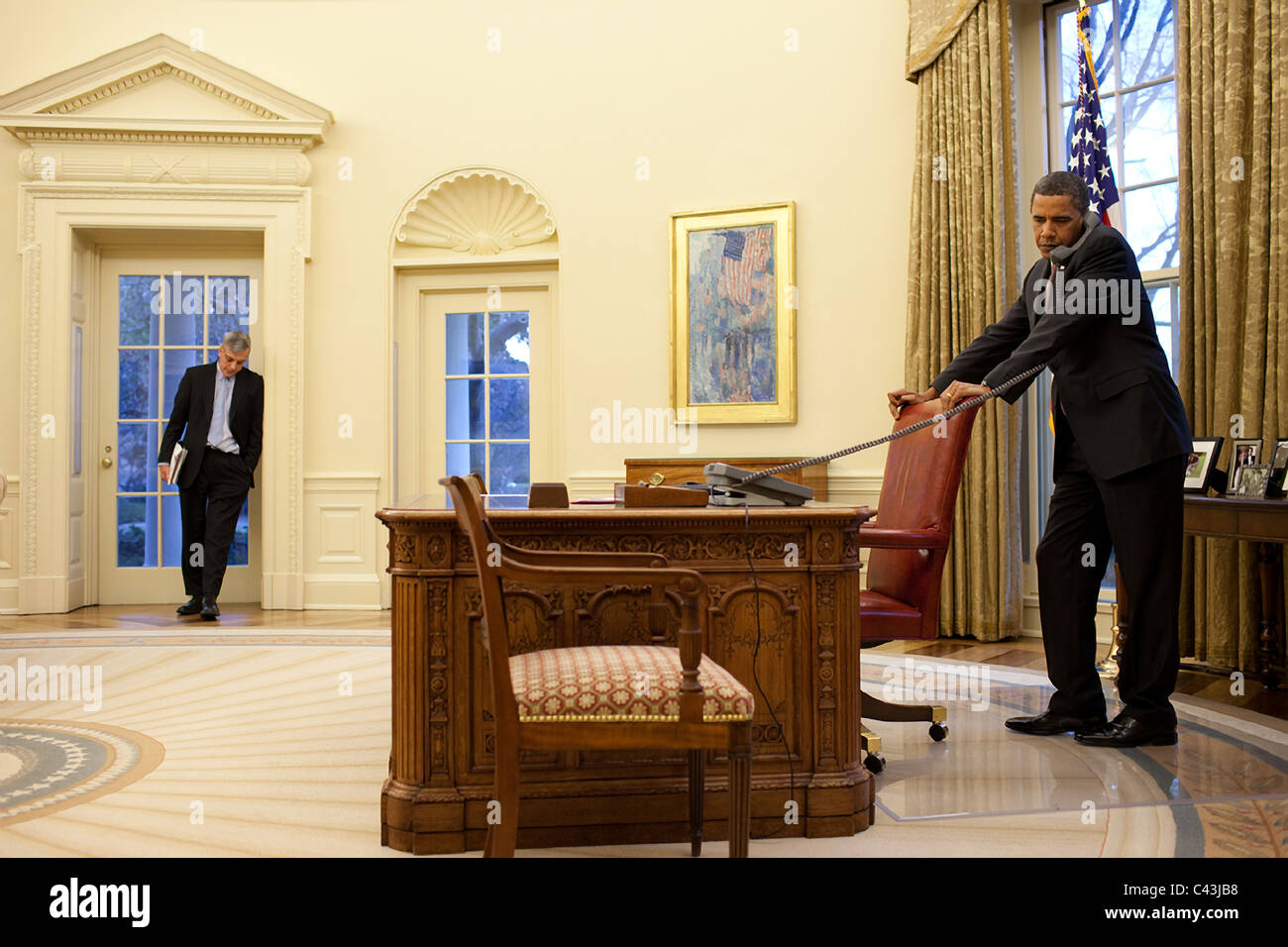 White House Oval Office Obama Images