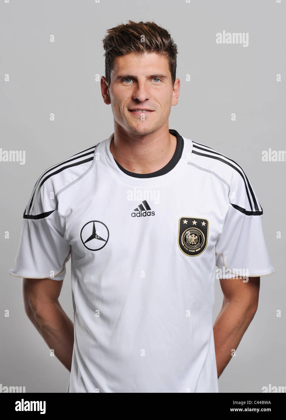 Mario GOMEZ national football soccer Team Germany Stock