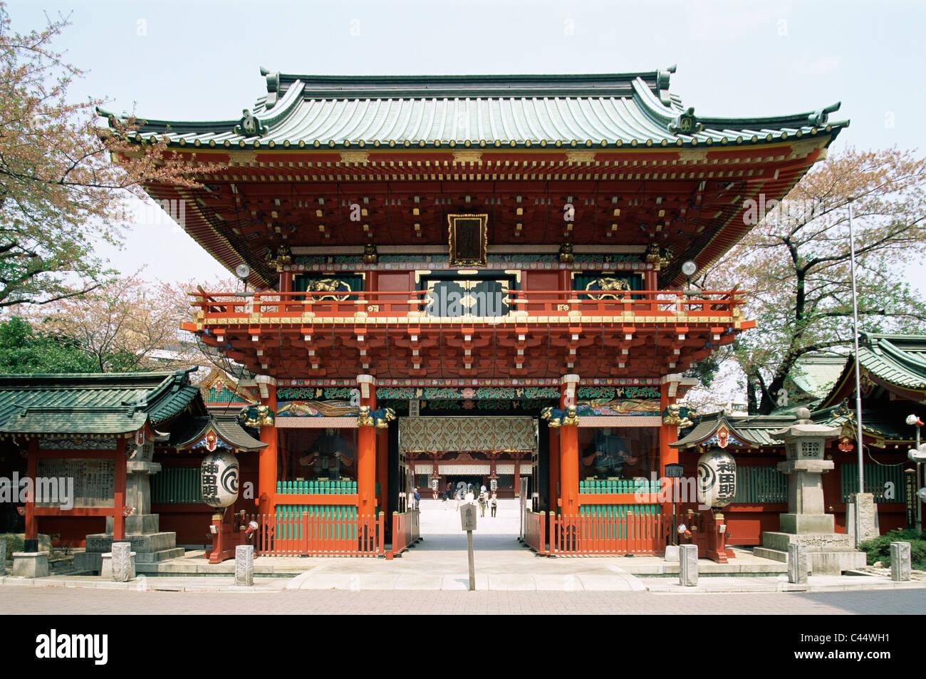 Architecture Asia Gateway Holiday Japan Kanda Landmark - Shinto religion
