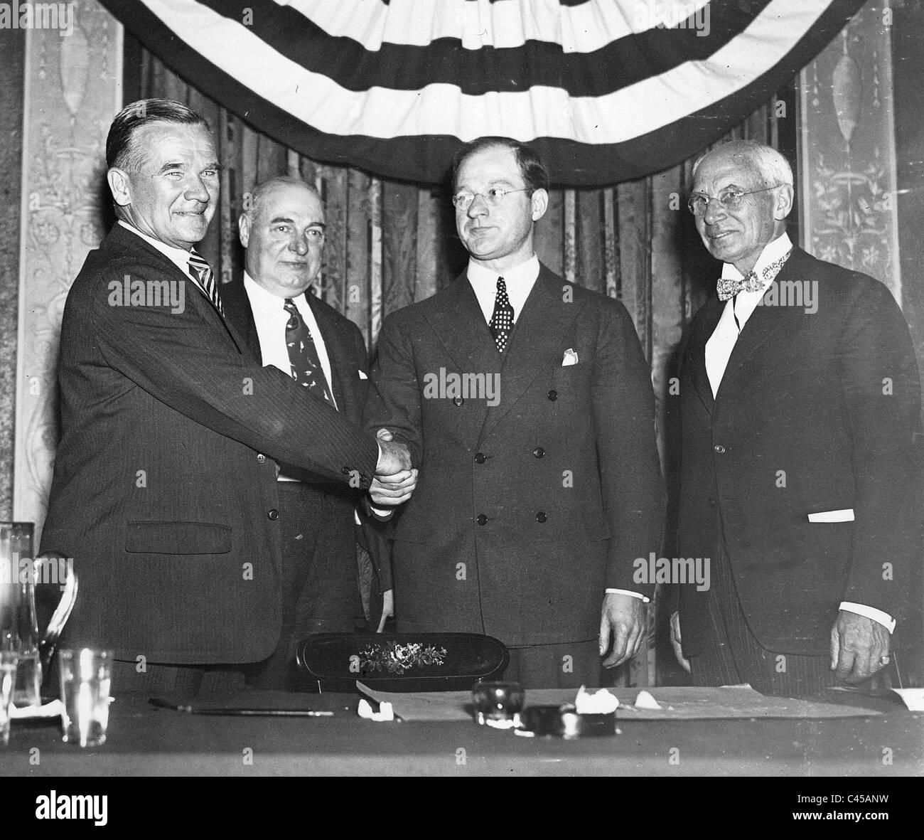 Amateur athletic union history