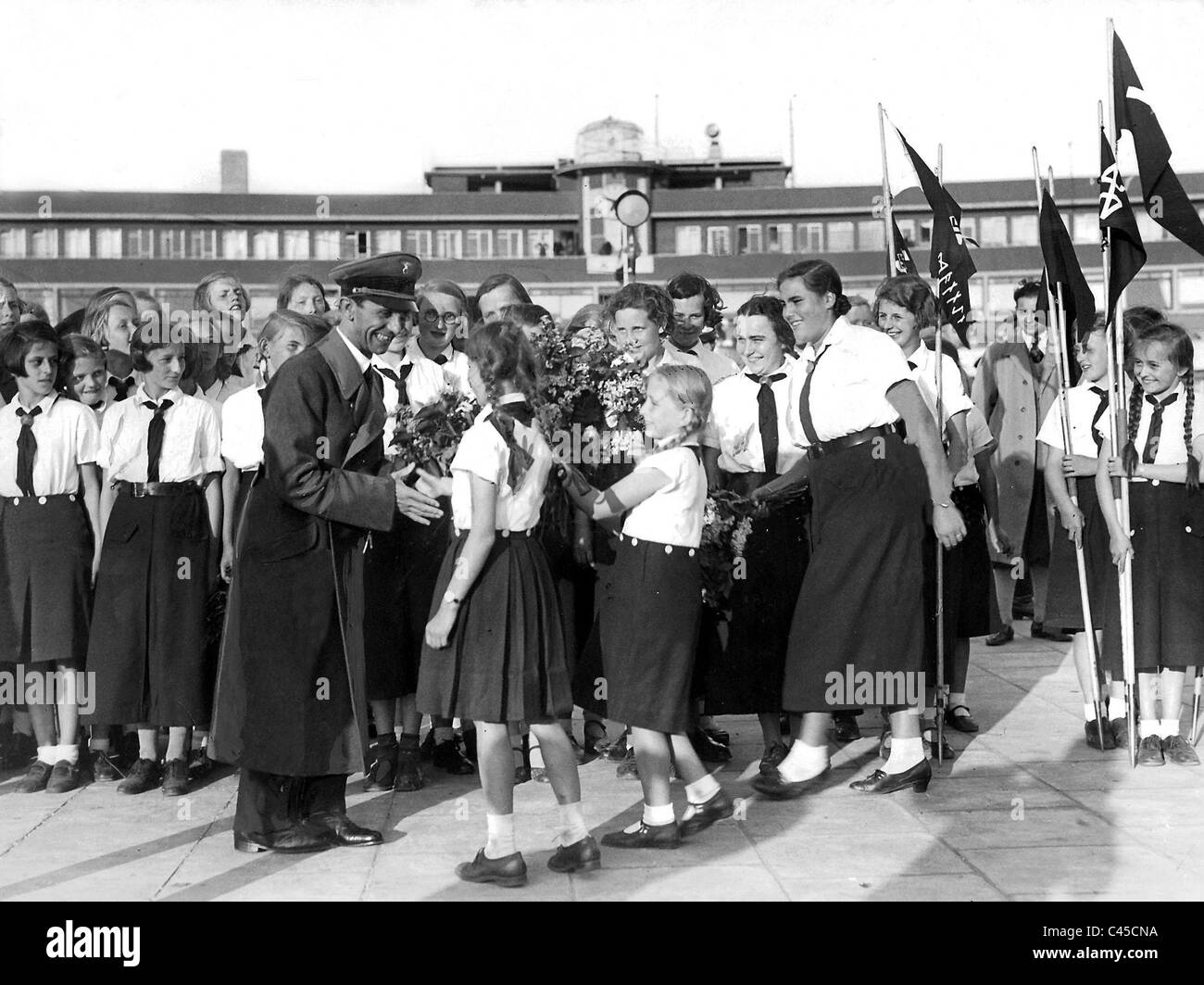 Goebbels girls form league of german girls stock photo royalty goebbels girls form league of german girls voltagebd Image collections