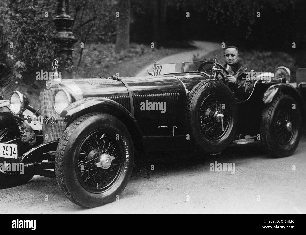 An 39 ssk 39 mercedes benz sports car 1929 stock photo for Mercedes benz 1929 ssk