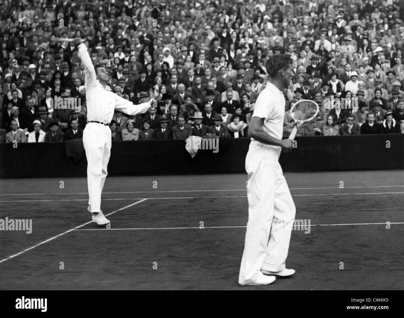 Sport Tennis Personalities Black and White Stock s &