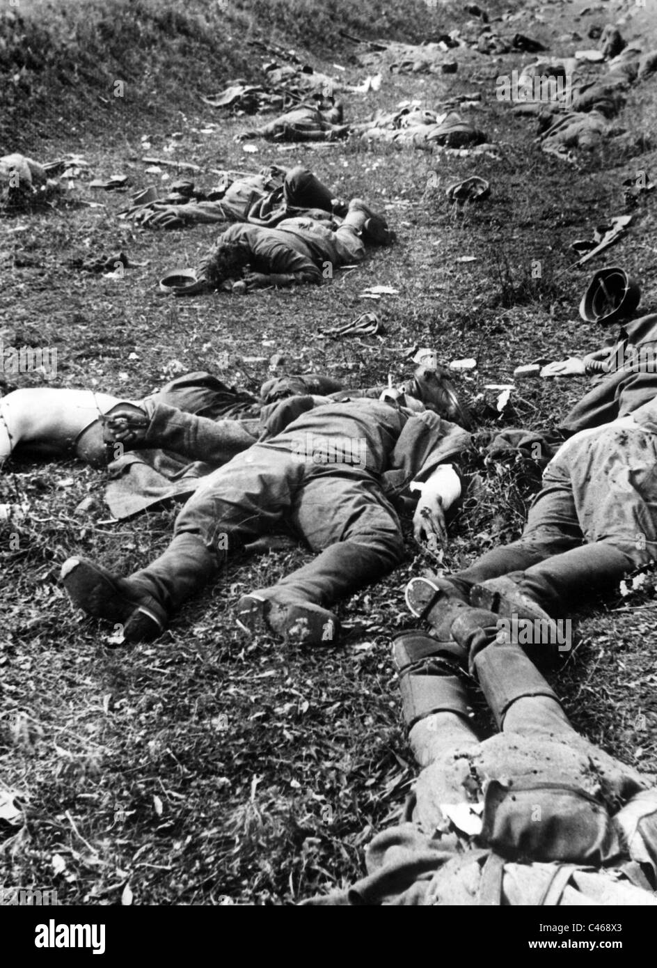 second world war dead soldiers of the red army on the