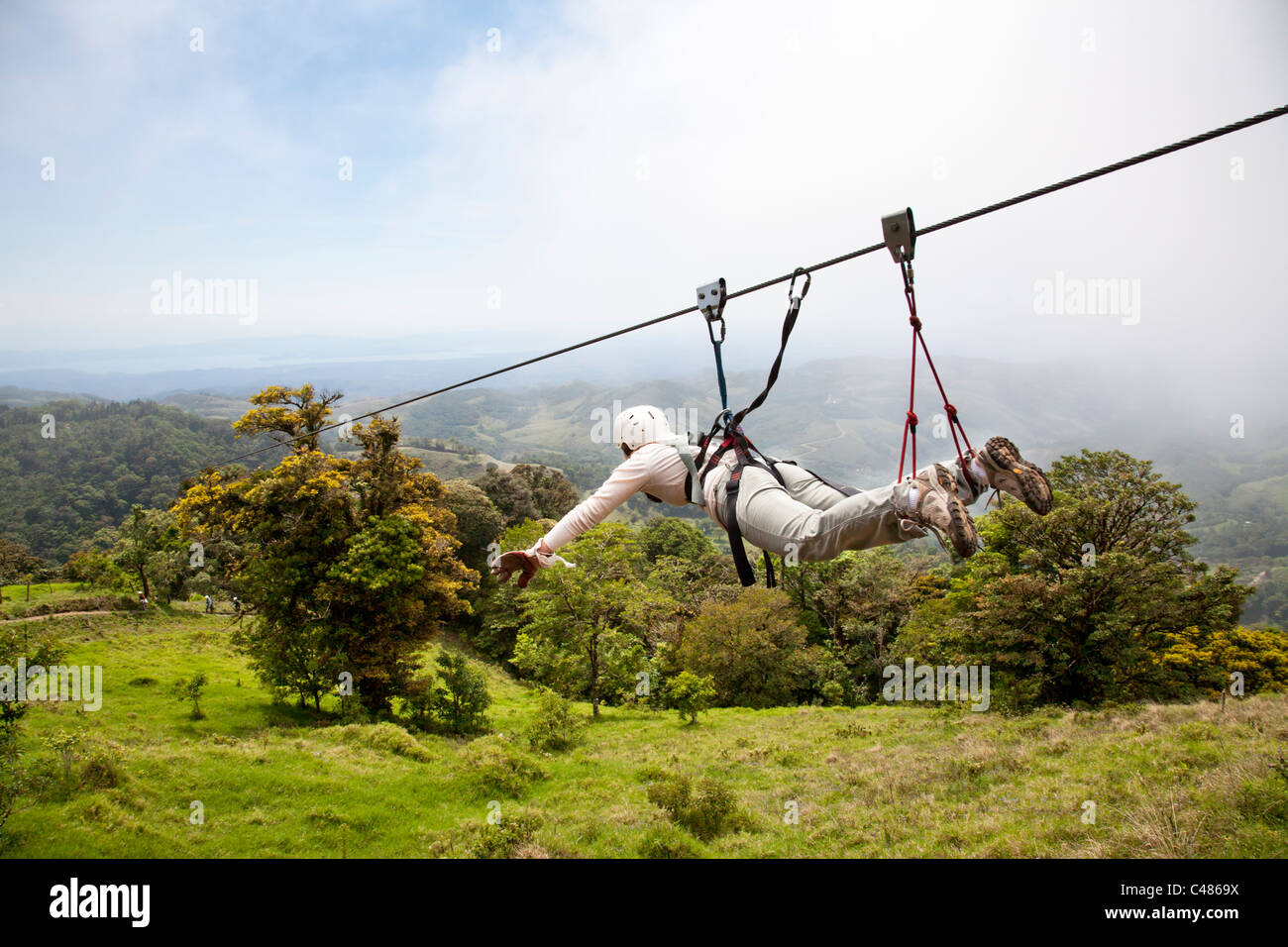 So called Superman Extremo Monteverde Canopy Tour Monteverde Costa Rica & So called Superman Extremo Monteverde Canopy Tour Monteverde ...