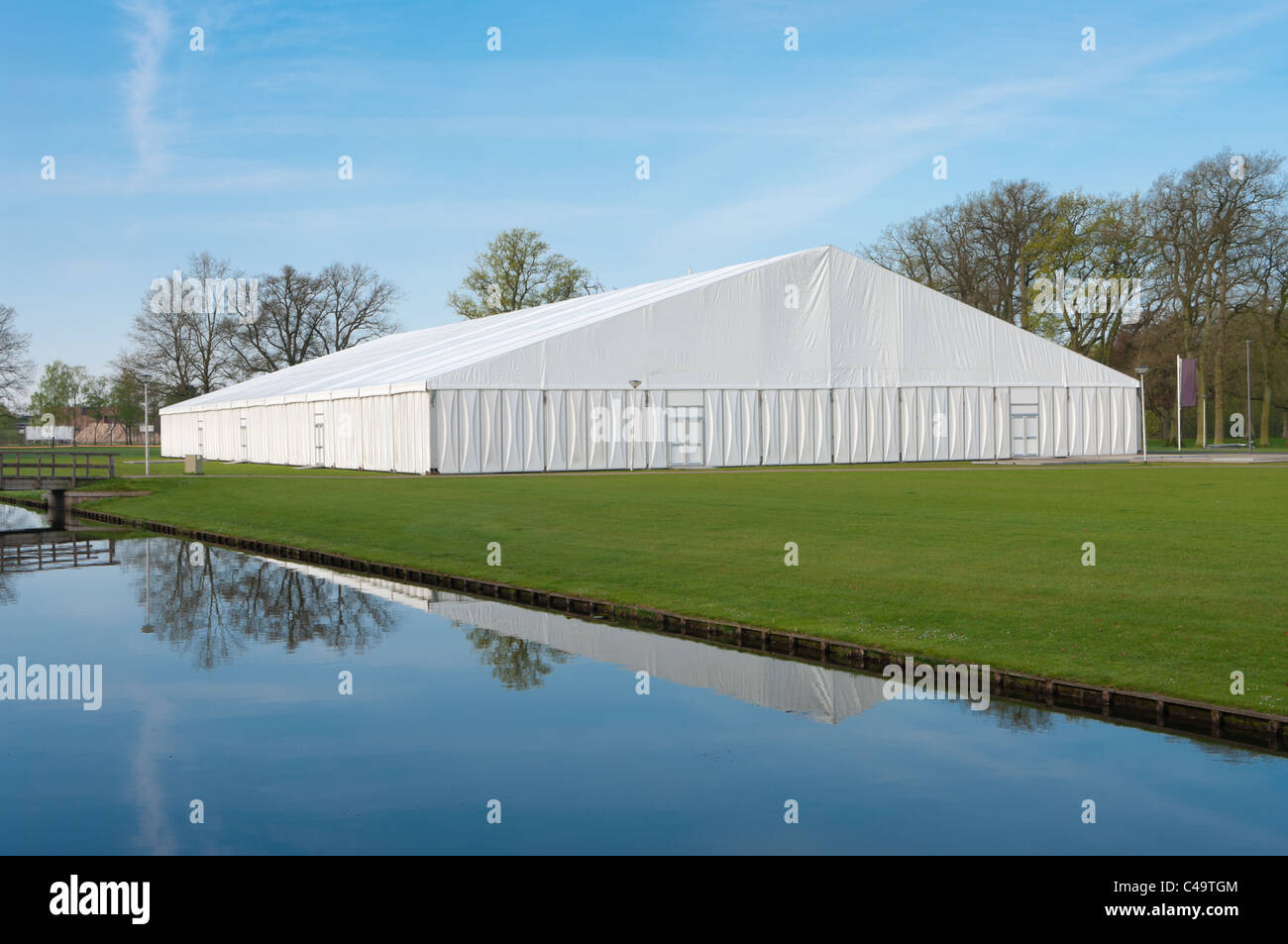 large white event tent on the c&us area of the technical university of enschede netherlands & large white event tent on the campus area of the technical ...