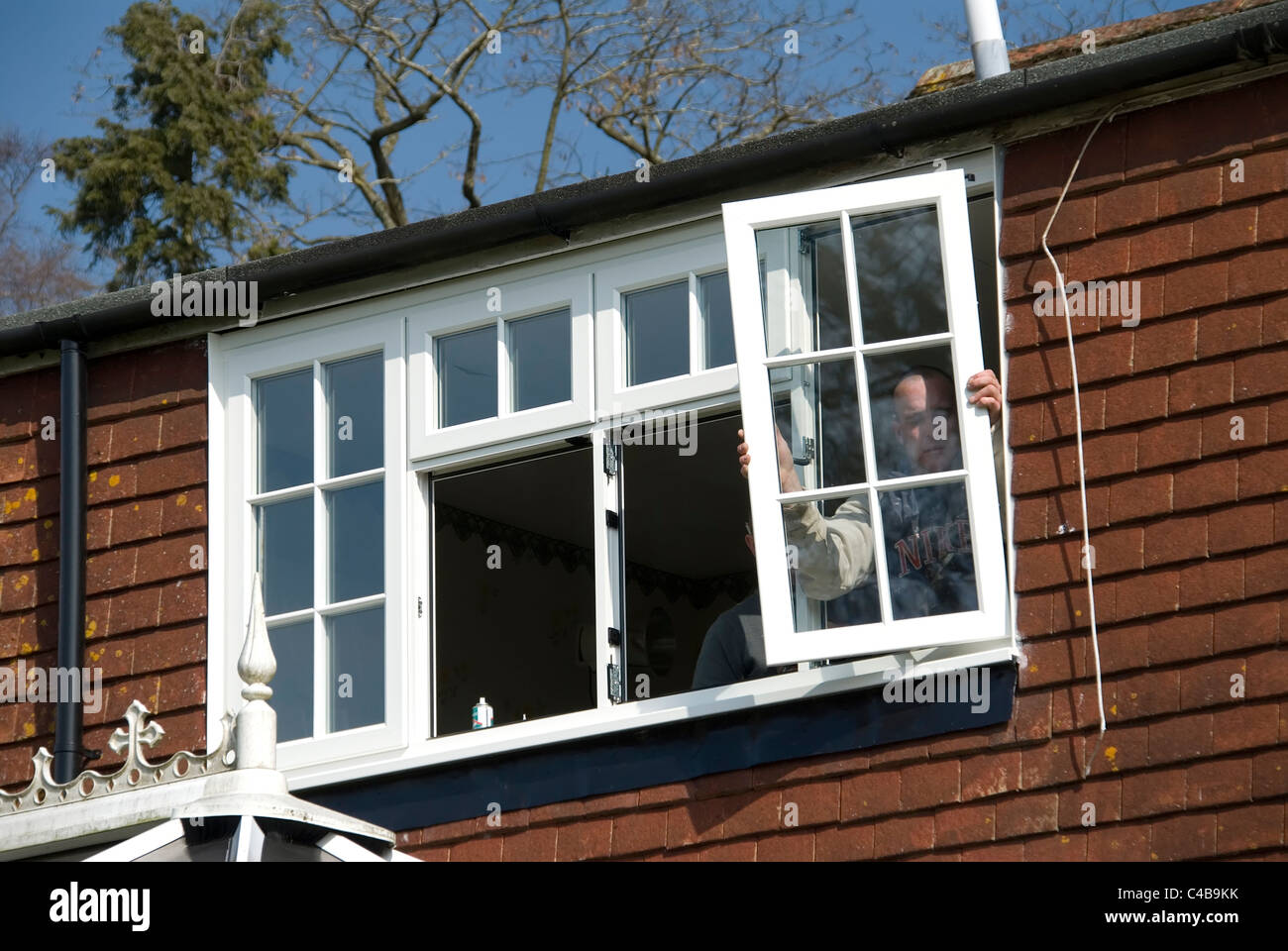 Installing a rated energy efficient replacement double for Energy efficient replacement windows