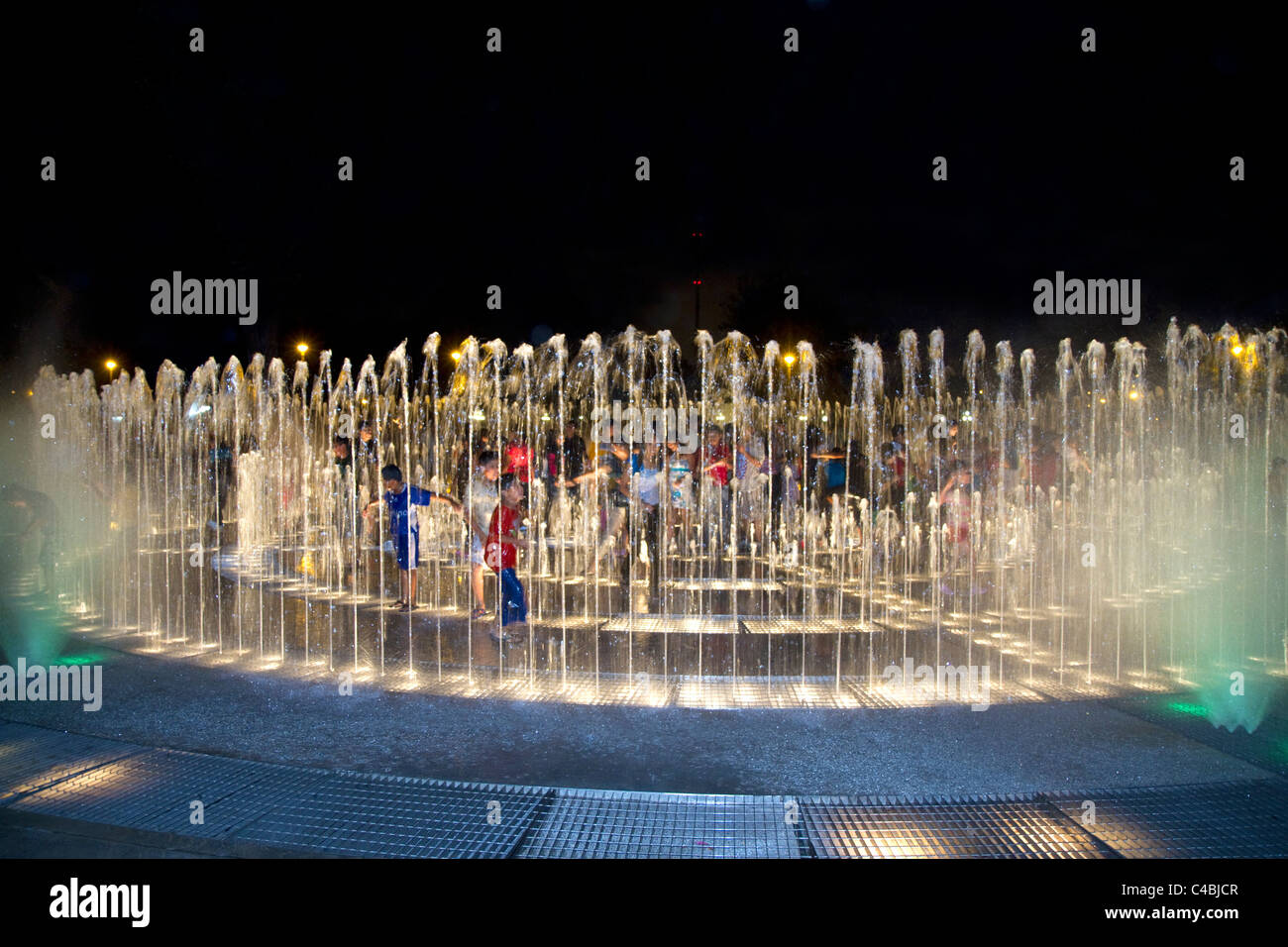 Water fountains lima -  Water Fountains Light Up At Night In The Magic Circuit Of Water Park In Lima