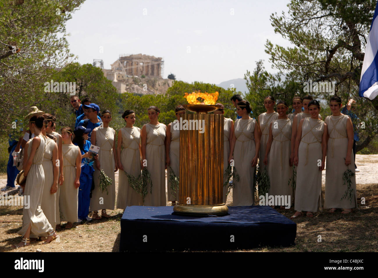 Special Olympics Torch Lighting Ceremony in Pnyx Athens Greece & Special Olympics Torch Lighting Ceremony in Pnyx Athens Greece ... azcodes.com