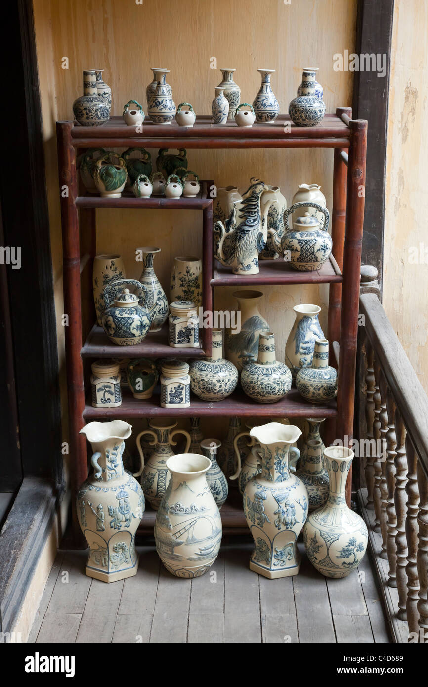 Antique chinese pottery vases on display stock photo royalty free antique chinese pottery vases on display reviewsmspy