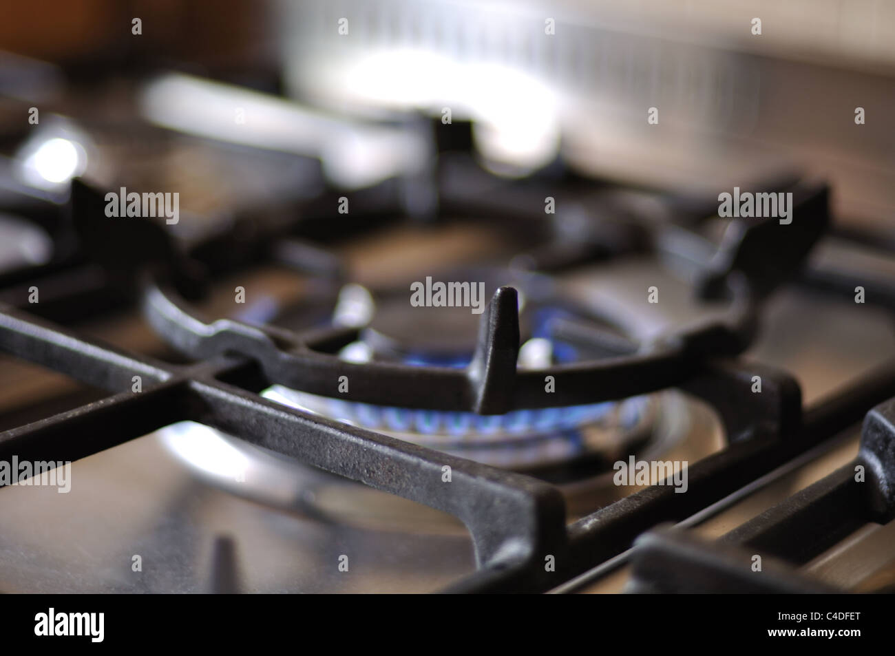 cooker hob gas ring Stock Photo, Royalty Free Image: 37176912 - Alamy