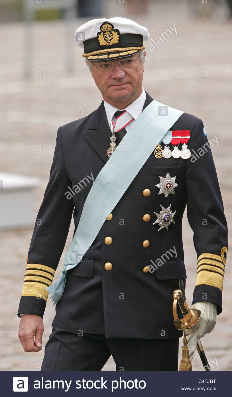 King Of Coins Pentacles As Advice: Carl XVI Gustaf Of Sweden