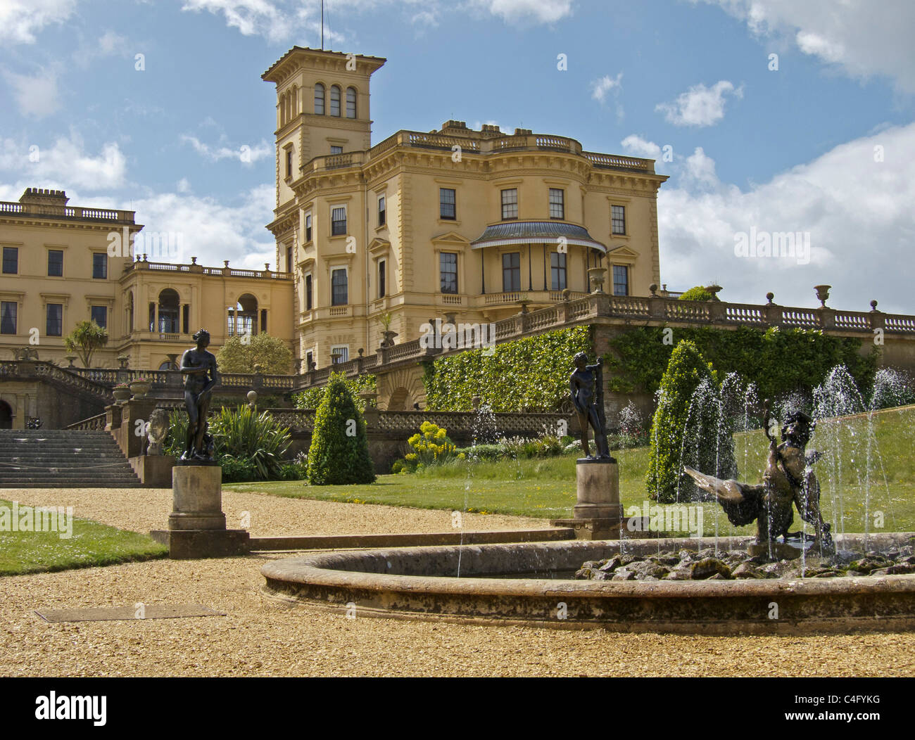 Osborne House The Home Of Queen Victoria Isle Of Wight