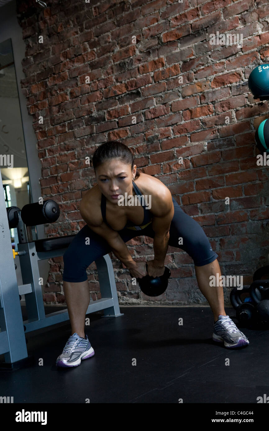 asian girls working out in lyon
