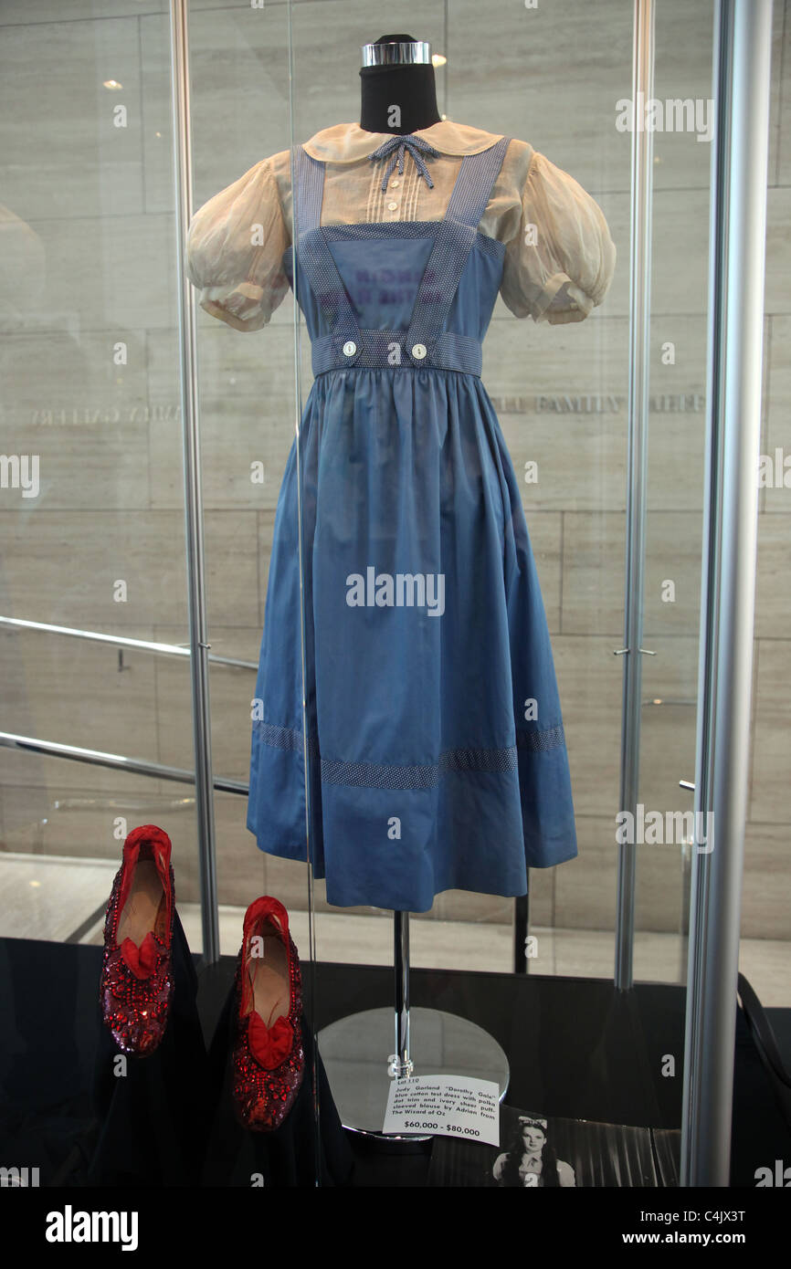 Judy Garland Red Shoes Auction