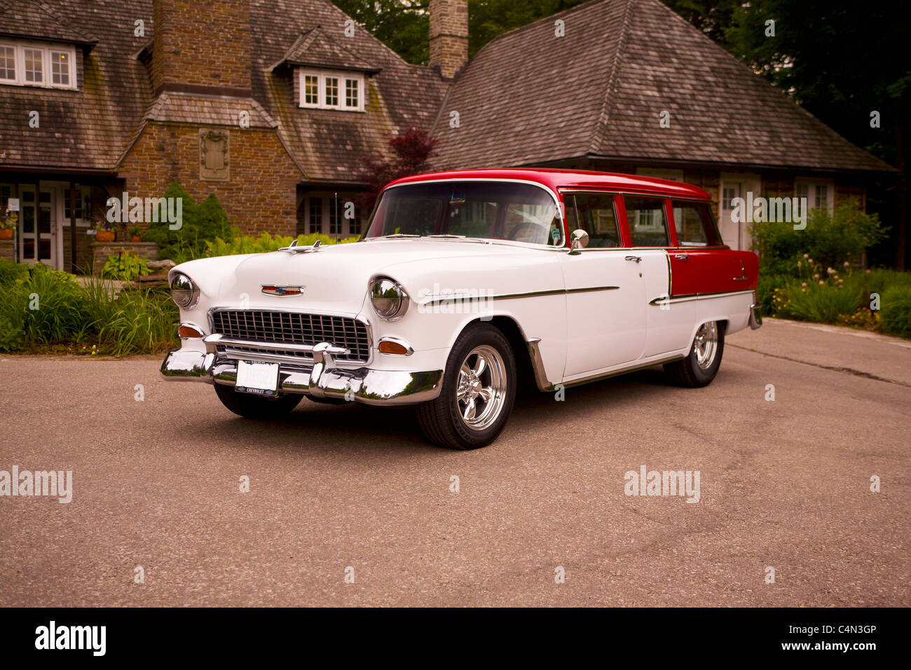 Chevrolet chevrolet station wagon : 1955 Chevrolet Station Wagon Stock Photo, Royalty Free Image ...