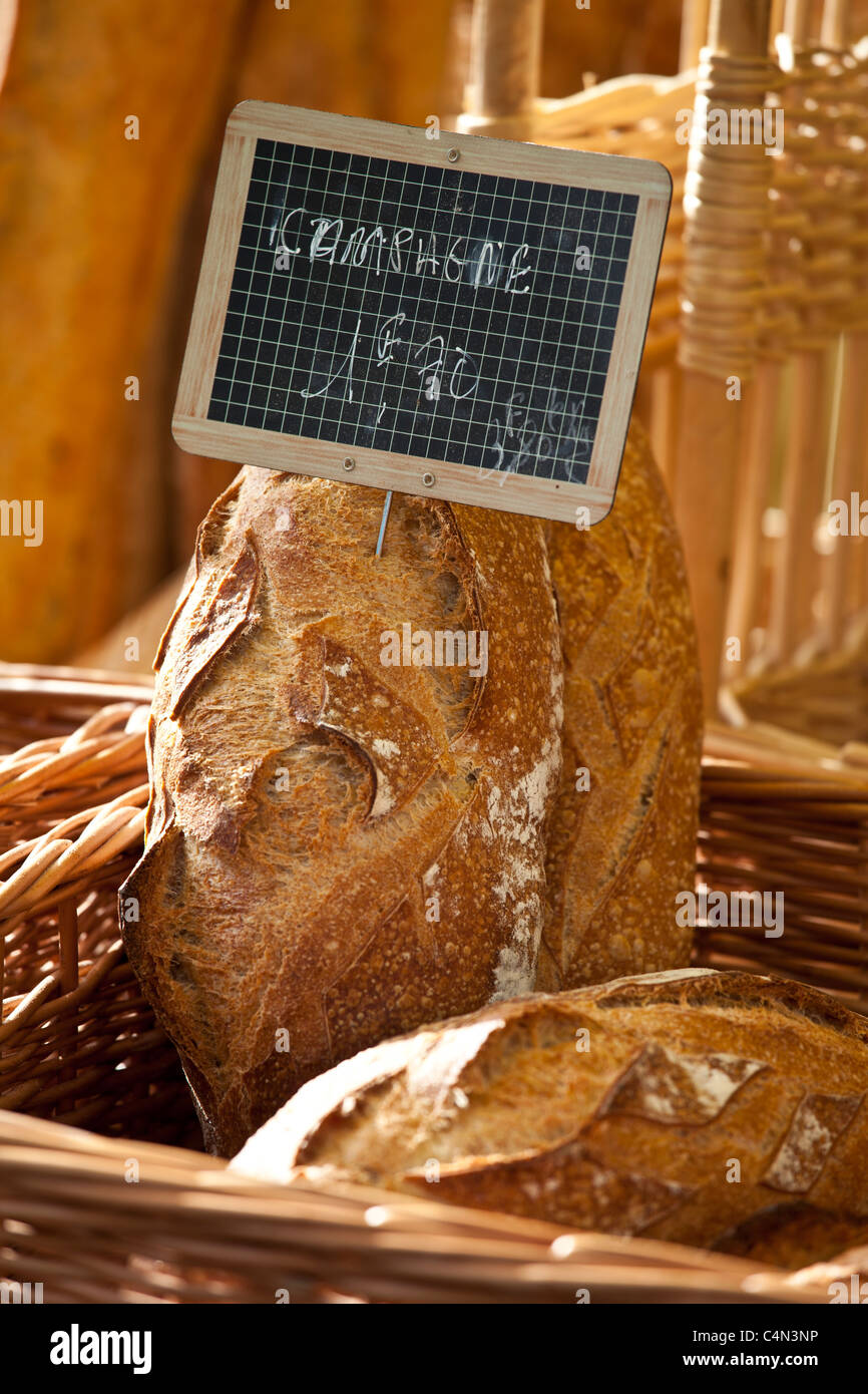 Fresh French Bread Pain Campagne On Sale For Euro At Food - Euro cuisine bordeaux