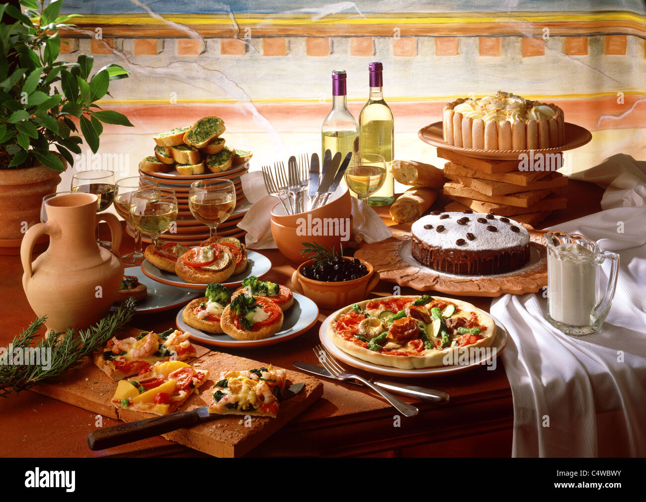 Italian Food Buffet Recipes
