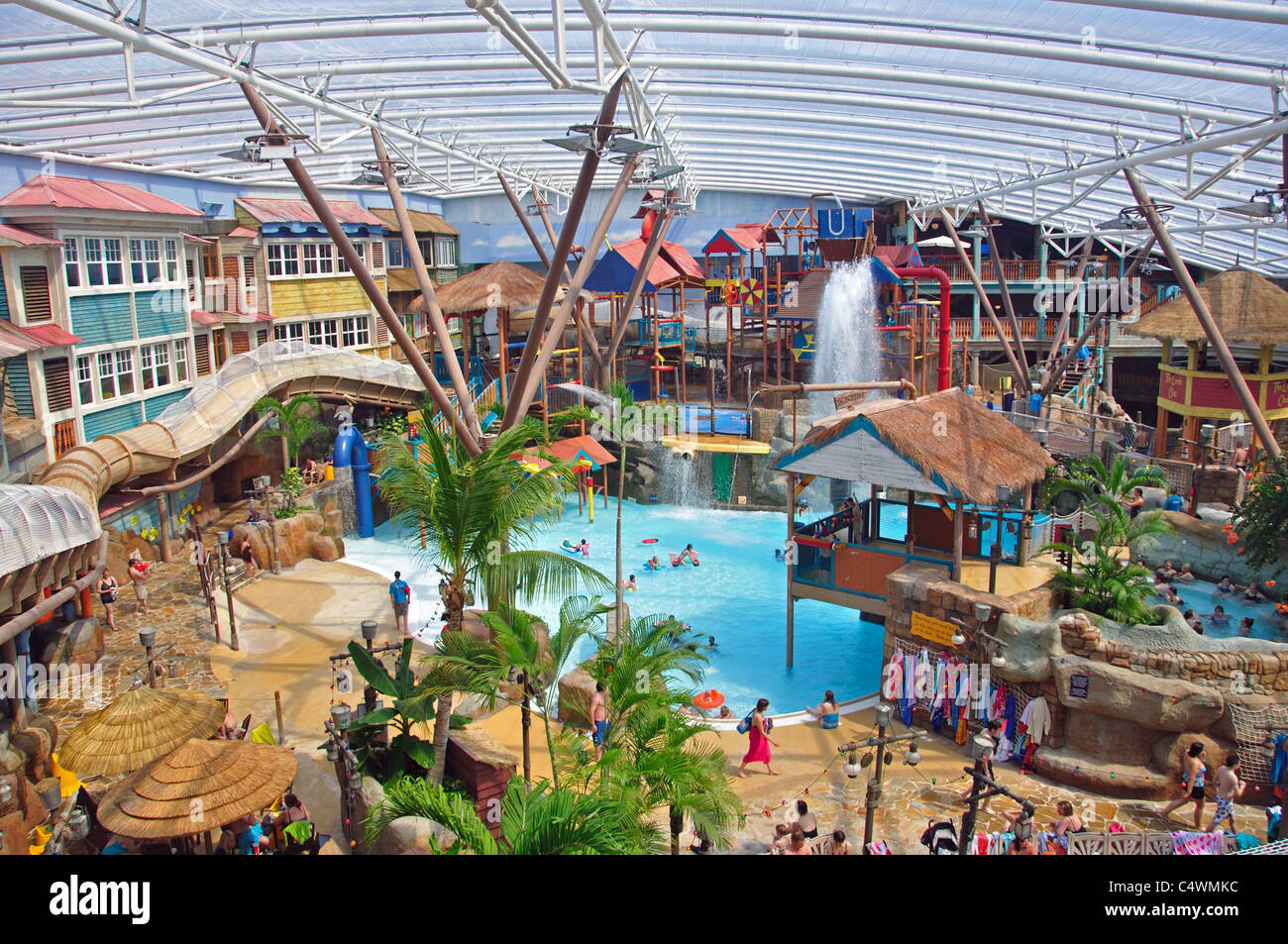 Alton Towers Waterpark At Splash Landings Hotel Alton Towers Theme Stock Photo 37444384 Alamy