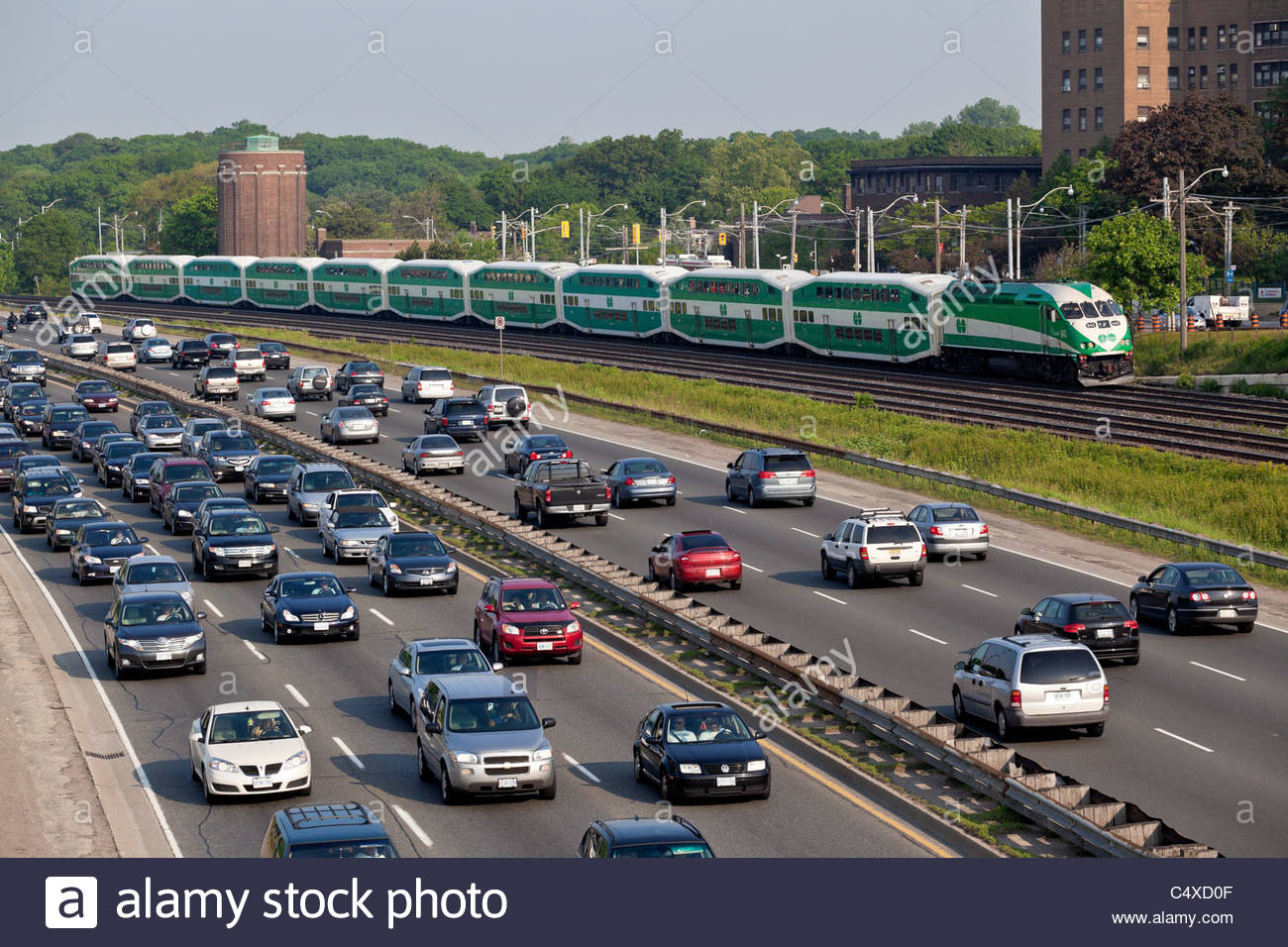 Gardiner Expressway : Gardiner expressway stock photos amp
