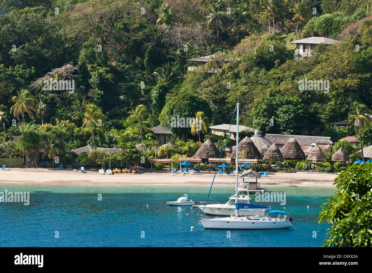 Young Island Villa Resort St Vincent