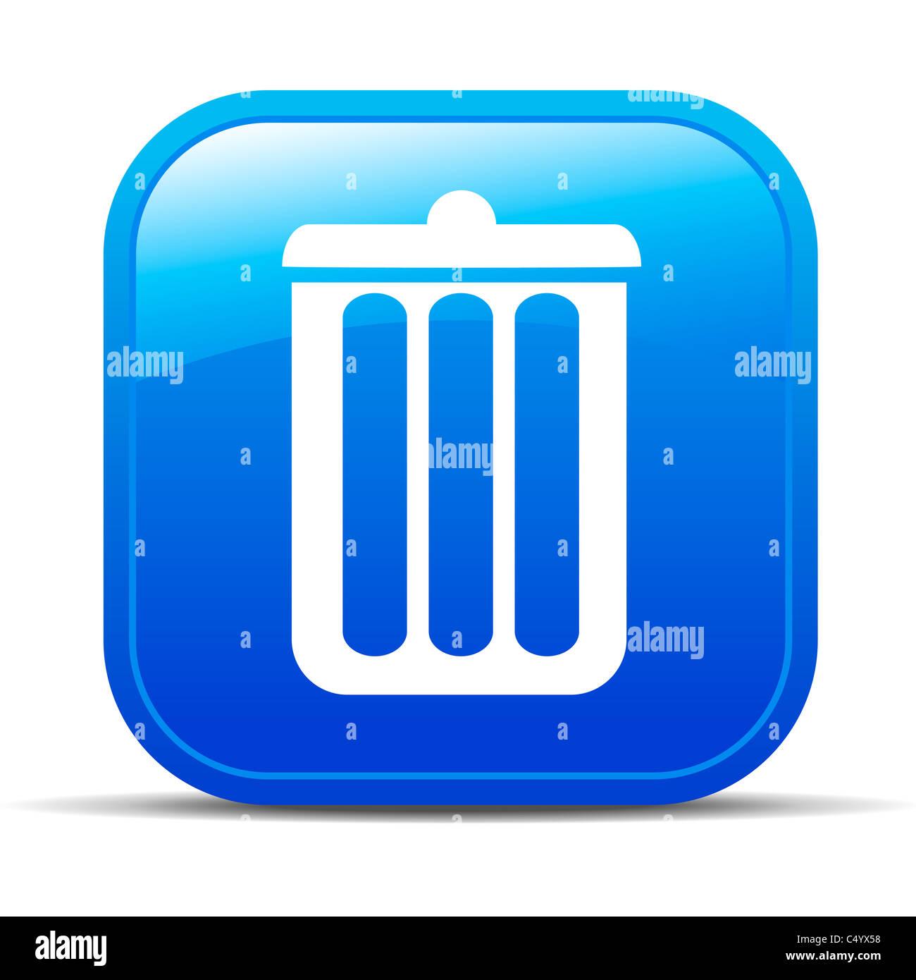 Can, delete, garbage, trash icon |Delete Trash Button Icon