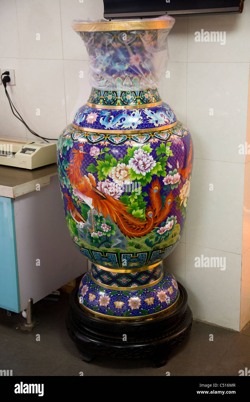 Most expensive chinese vase stock photos most expensive chinese cloisonne vase display vases for sale in the tourist gift shop at the summer palace reviewsmspy