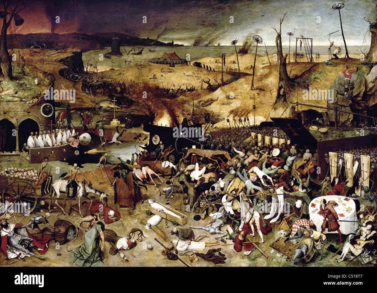 Pieter Bruegel The Triumph of Death 1560 Prado Museum ...
