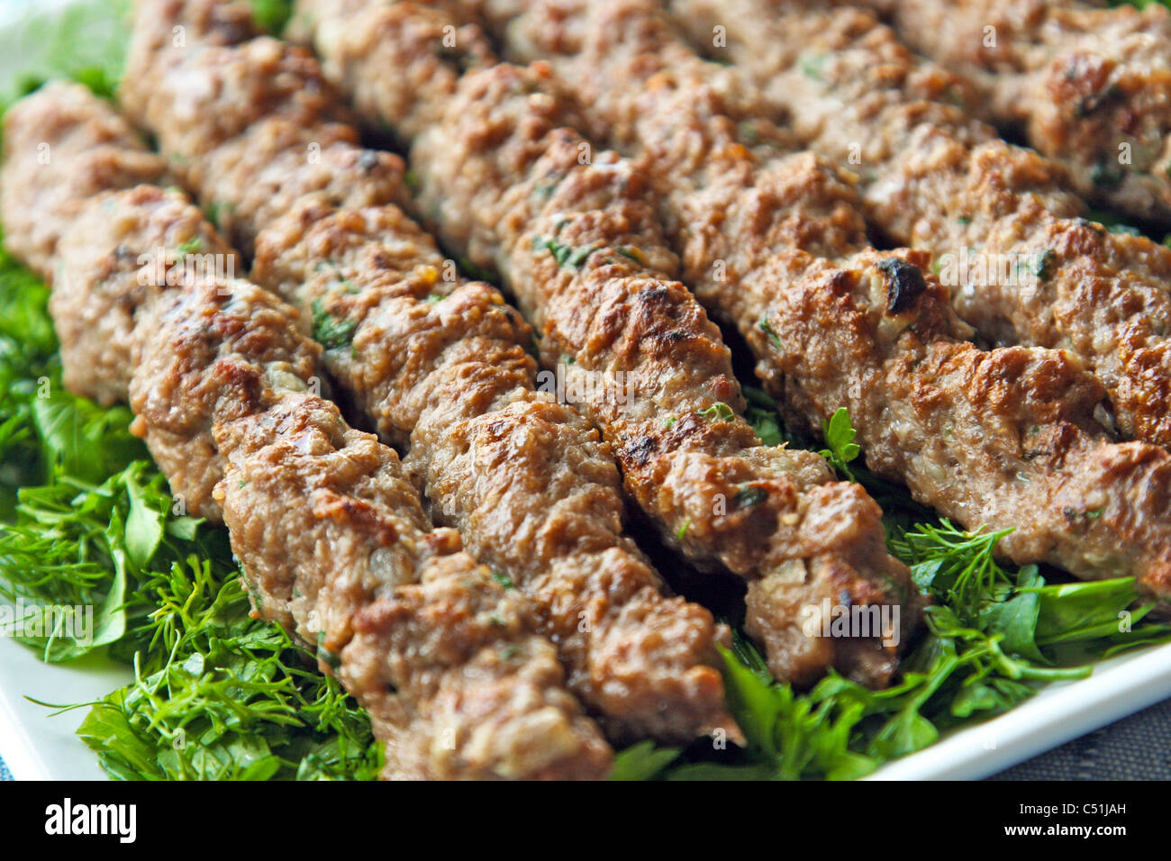 Arabic food kebab and kofta stock photo royalty free for Arabic cuisine food