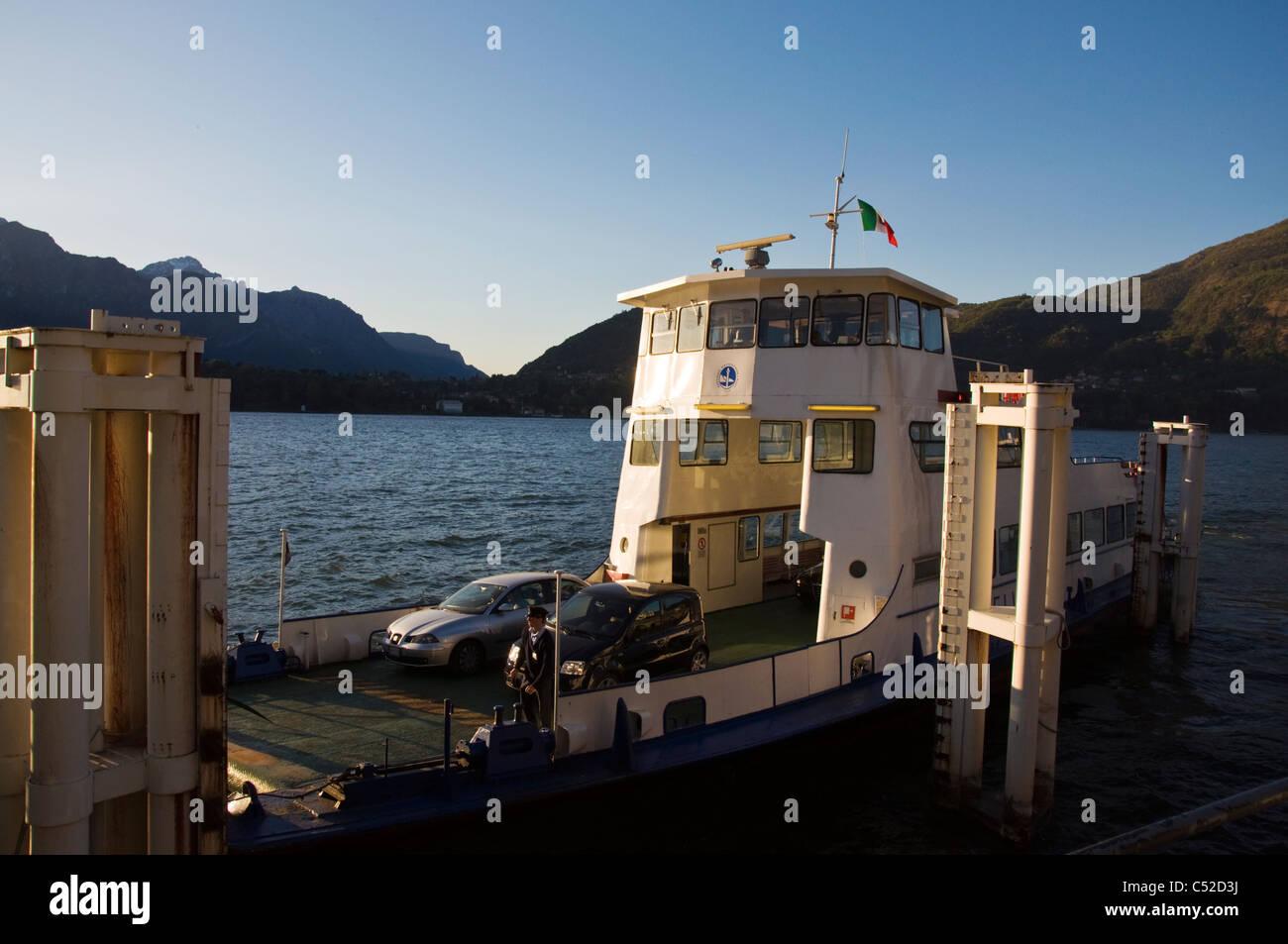 Car Ferry At Tremezzo Lake Como Stock Photo Royalty Free Image