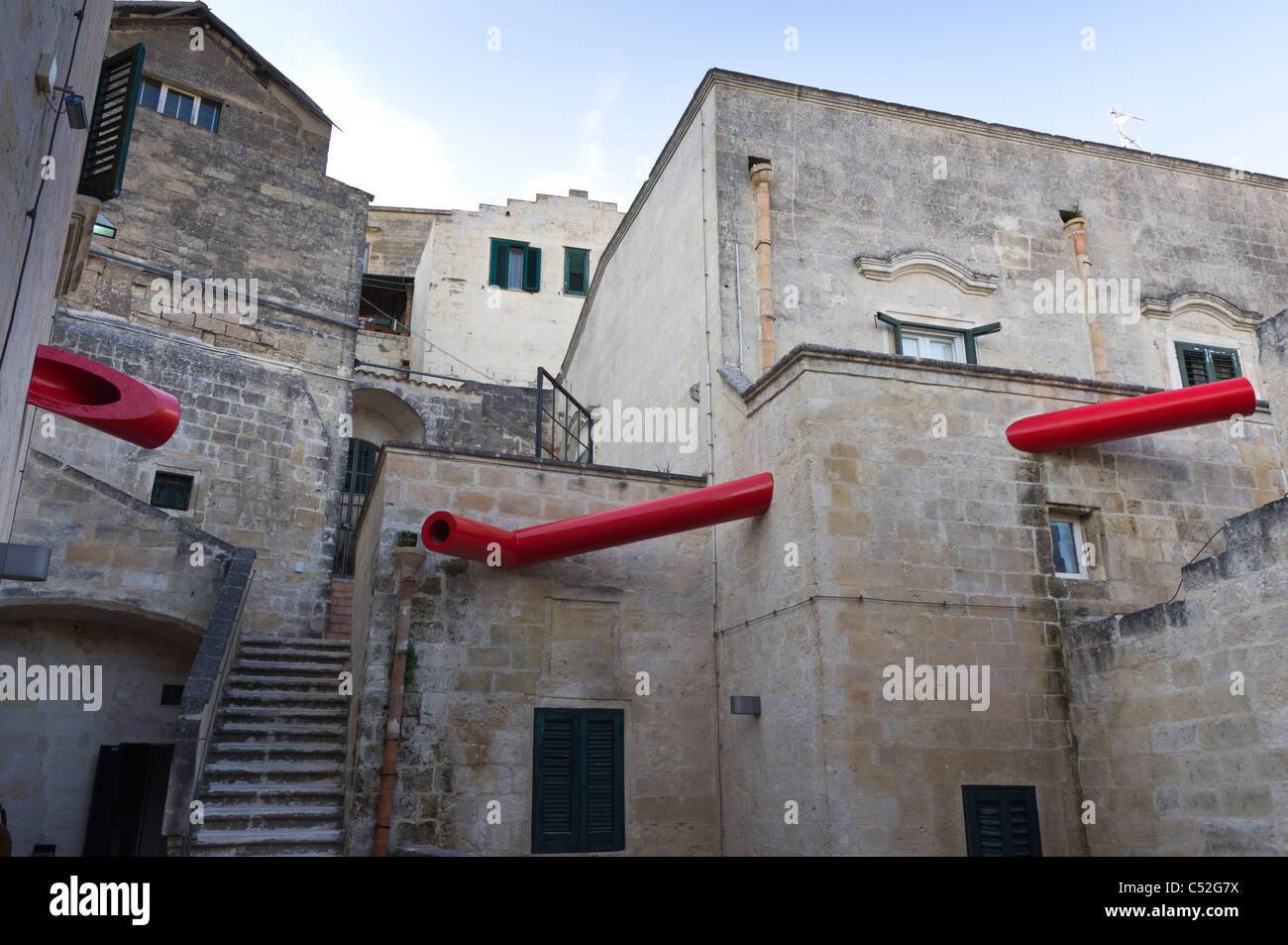 MUSMA art gallery housed in caves of the UNESCO site, the Sasso ...