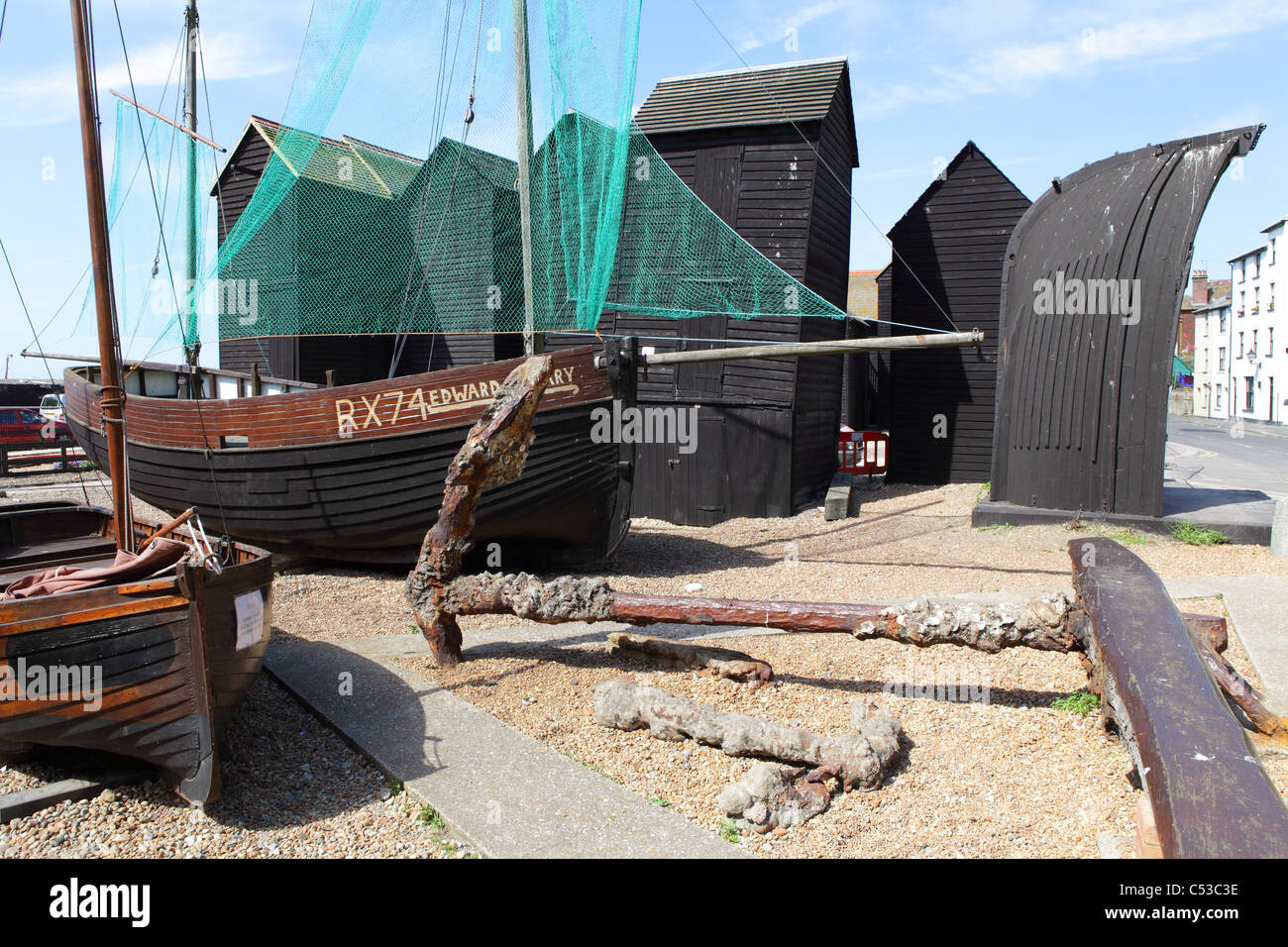 Fishing Boats and Net Huts - Hastings and St Leonards an ...