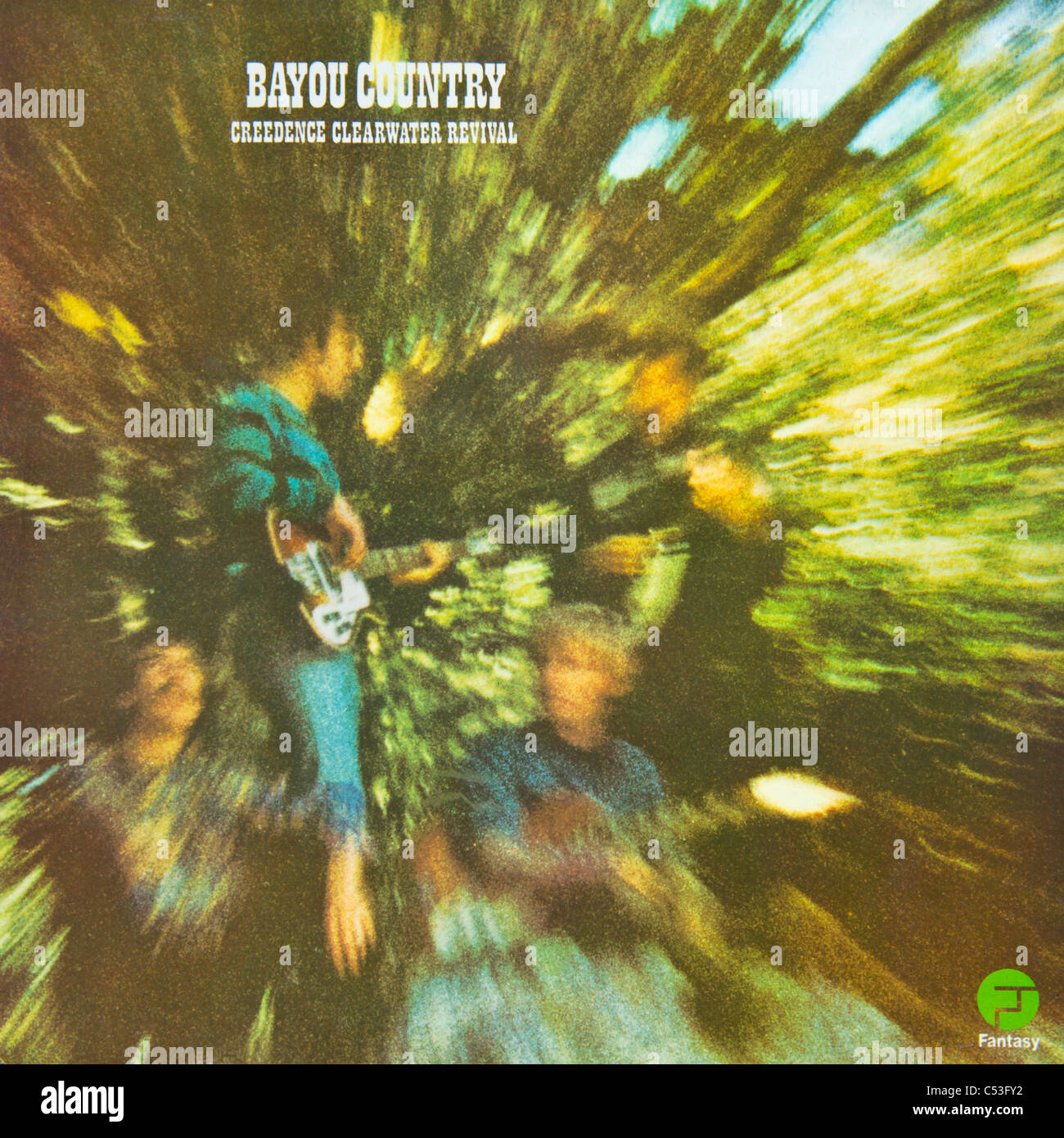 cover of original vinyl album bayou country by creedence. Black Bedroom Furniture Sets. Home Design Ideas